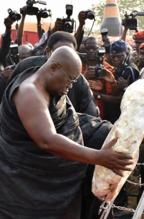 Nana Afia Kobi Serwaa Ampem II Goes Home