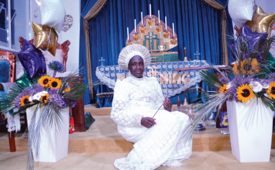 Rev. Mother Esther Abimbola Ajayi's Love Of Christ Generation C&S Church In Clapham, London