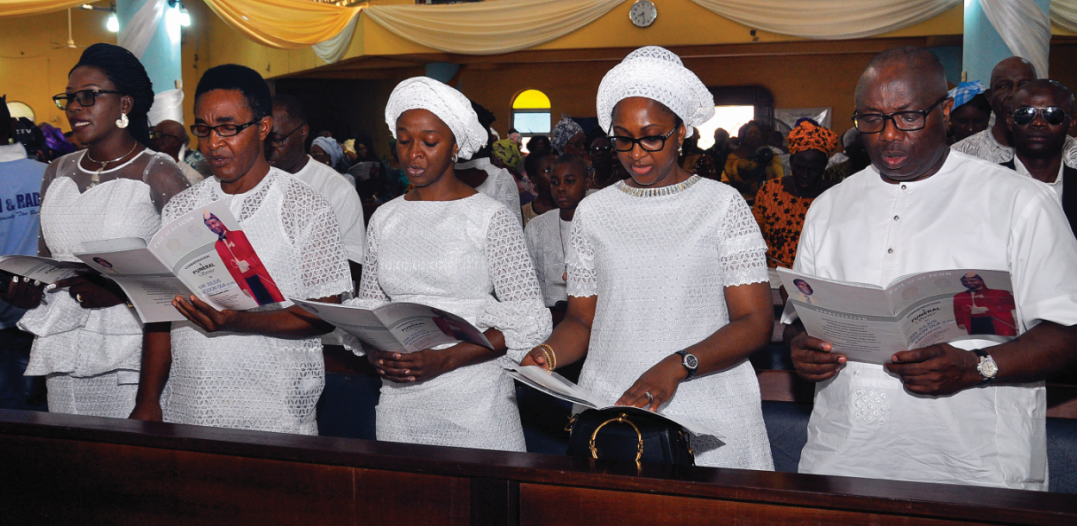 Sir Julius Ifidon Ola is laid to rest