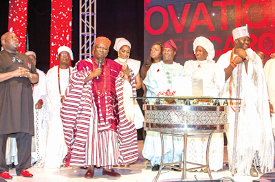 The 10th edition of the Ovation Red Carol